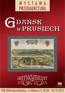 Gdańsk w Prusiech - wystawa przedaukcyjna