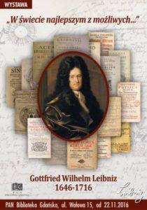 W świecie najlepszym z możliwych – Gottfried Wilhelm Leibniz 1646-1716