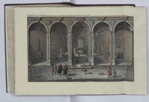 Wnętrze Biblioteki Rady Miasta. [w:] R. Curicke, Der Stadt Danzig historische Beschreibung, 1687.