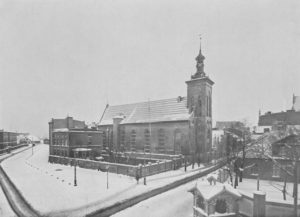 St. Jacob's Church, the seat of the Library in 1819-1904.