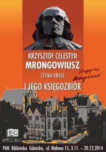 Krzysztof Celestyn Mrongowiusz (1764-1855) i jego księgozbiór